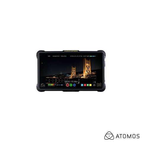 "Atomos Shogun Inferno 7"" 4K HDMI/Quad 3G-SDI/12G-SDI Recording Monitor with Accessory Kit"