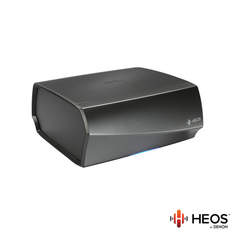 Denon HEOS Amp Amplifier - 2.1 Channel - Black, Gunmetal Silver