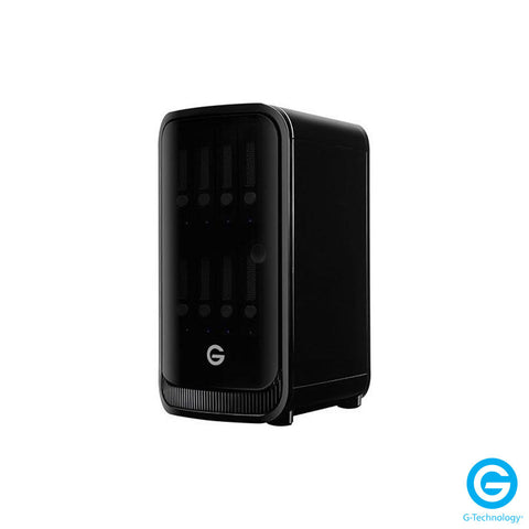 G-Technology G-SPEED Studio XL 24TB 8-Bay Thunderbolt 2 RAID Array with Two ev Bay Adapters (6 x 4TB)
