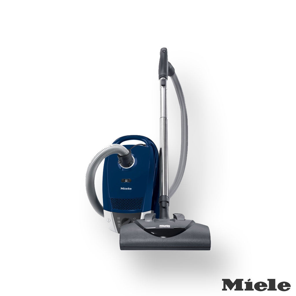 Miele Compact C2 Electro+ Canister Vacuum, Marine Blue