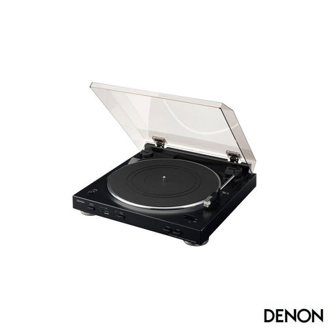 Denon - DP-200USB Record Turntable - Black