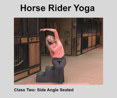 Horse Rider Yoga- Class Two-Side Angle & Warrior Two Pose Digital Download