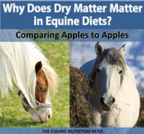 Dry Matter in the Equine Diet PDF