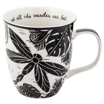 Dragonfly Mug-Not All Who Wander Are Lost