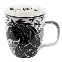 Horse Mug-Set Your Spirit Free