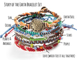 Wakami Earth Bracelet Set