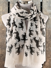 Galloping Horses Scarf