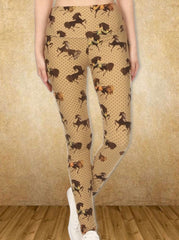 Golden Horse Leggings