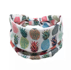 Pineapple Thick Headband