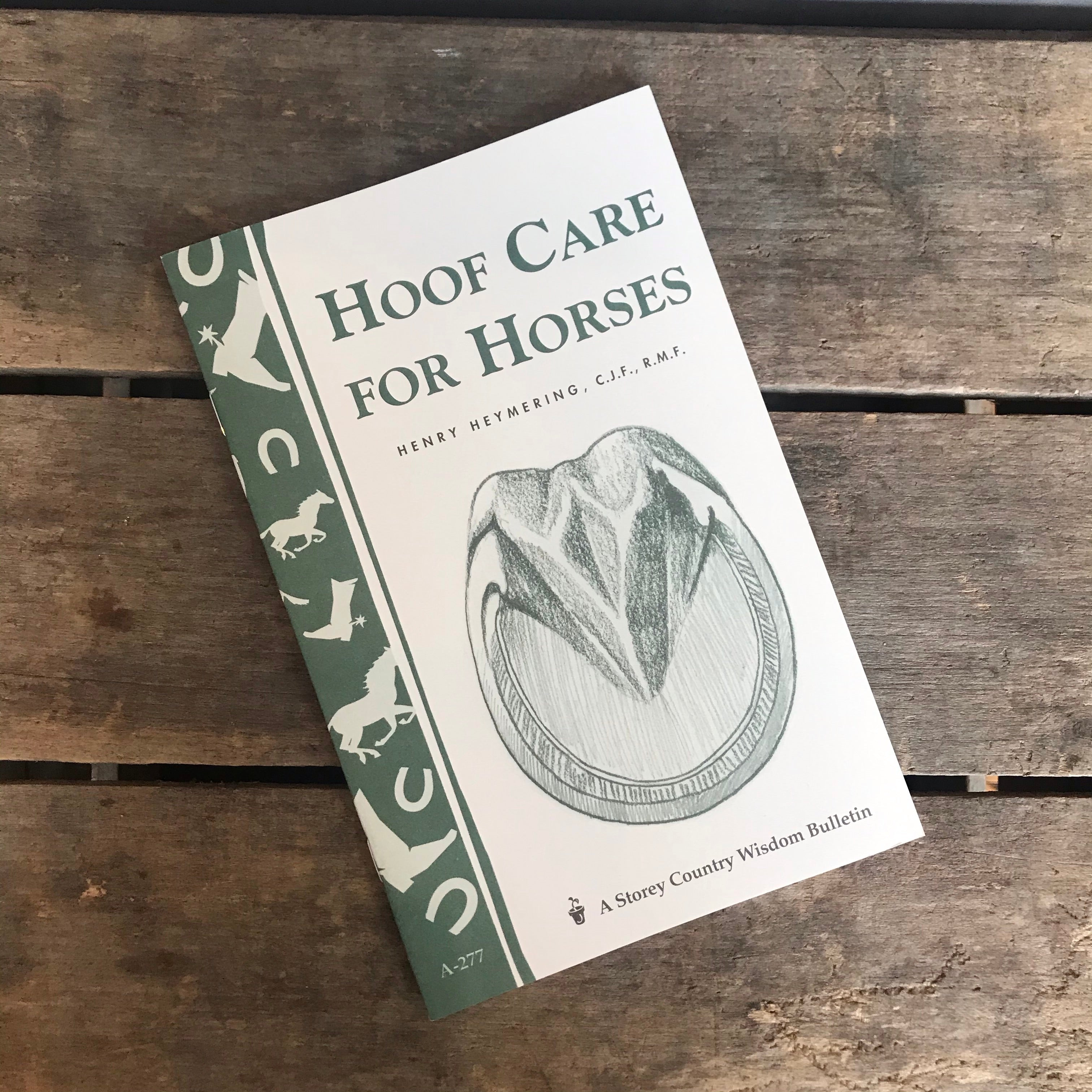 Hoof Care for Horses Booklet