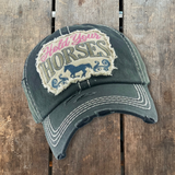 Hold Your Horses Hat- Black