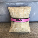 Dog Mom Leather Bracelet-2 colors