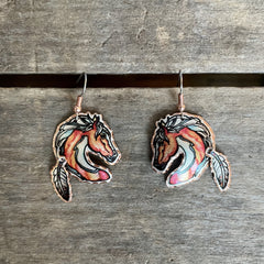 Copper Craft Chief Earrings