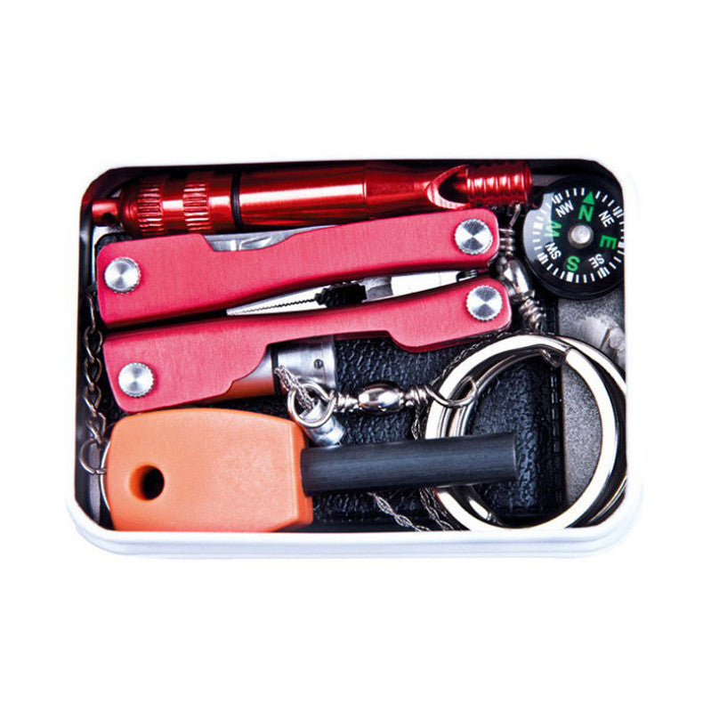 Camping Survival Tool Survival Gear Emergency Equipment SOS Kit Car Earthquake Emergency Supplies SOS Outdoor