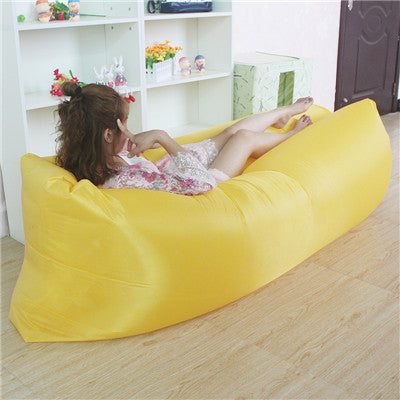 Inflatable Waterproof Air Lounger Sleeping Lay bed Sofa For Home, Camping, Beach (50% OFF)