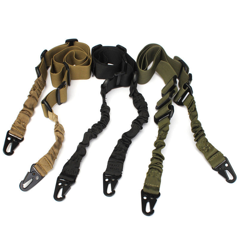 Hunting Gun Strap Outdoor Airsoft Mount Bungee System Kit Nylon Multi-function Adjustable Two Point Tactical Rifle Sling