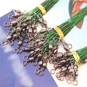 Fishing Tackle Lures/ Line Green Fishing Lures 72 pcs Anti-bite Lead Rope