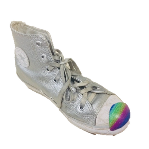 Glitter Rainbow ShoeBumper
