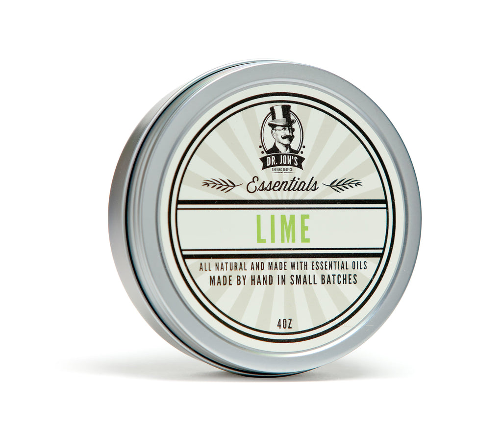 Dr. Jon's Essentials Lime Shaving Soap