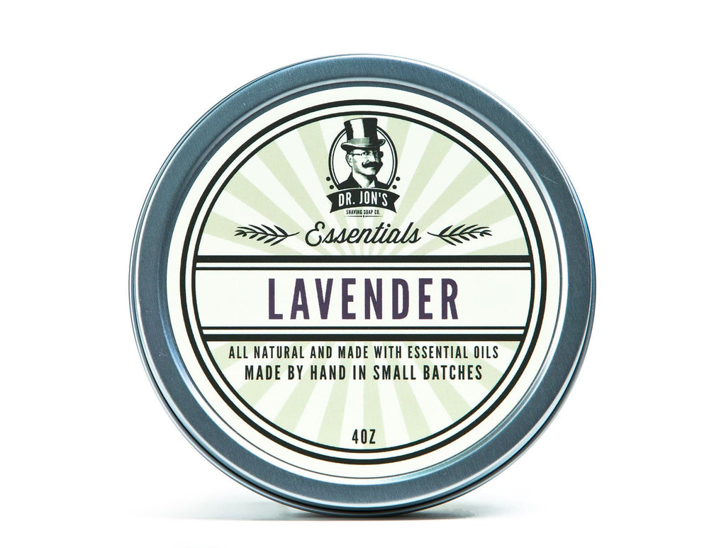 Dr. Jon's Essentials Lavender Shaving Soap