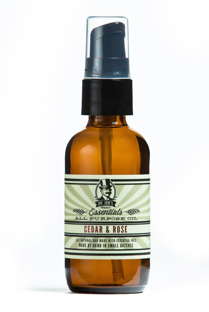 Dr. Jon's Cedar and Rose All Purpose Oil