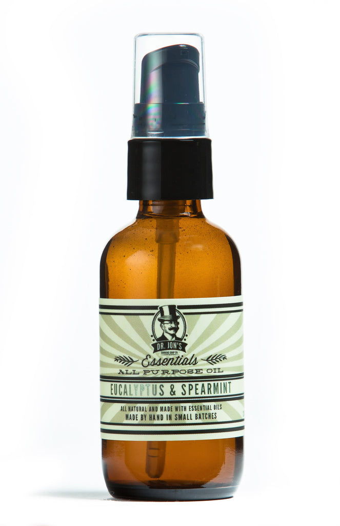 Dr. Jon's Essentials All Purpose Oil Eucalyptus & Spearmint