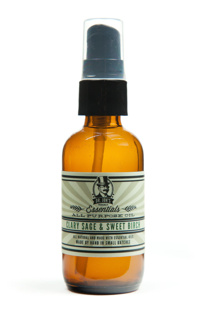 Dr. Jon's All Purpose Oil Clary Sage and Sweet Birch