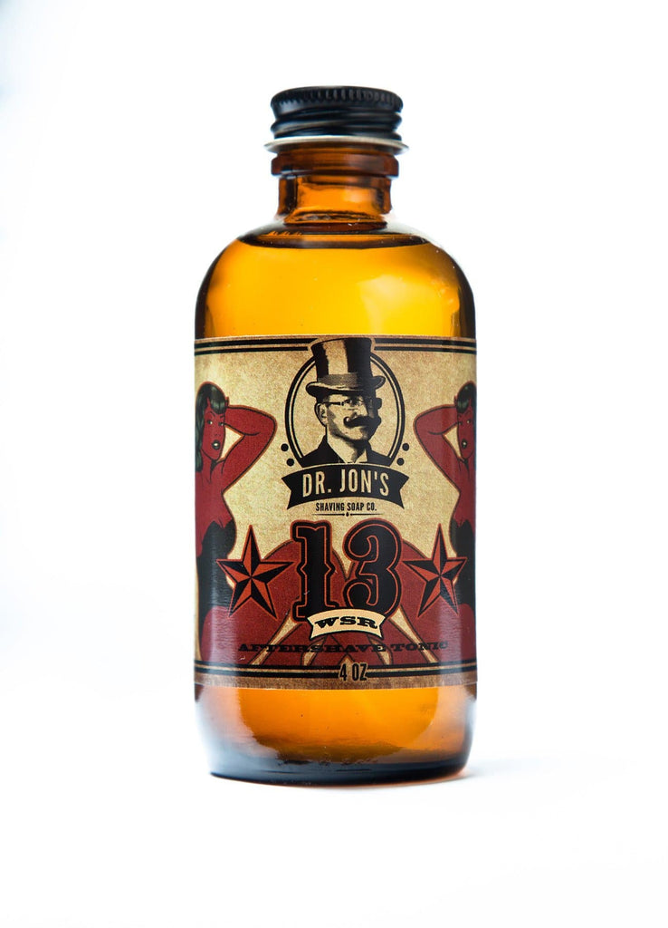 "Dr. Jon's ""13"" Aftershave"