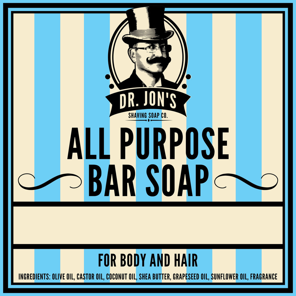 Dr. Jon's All Purpose Hair and Body Bar 4oz