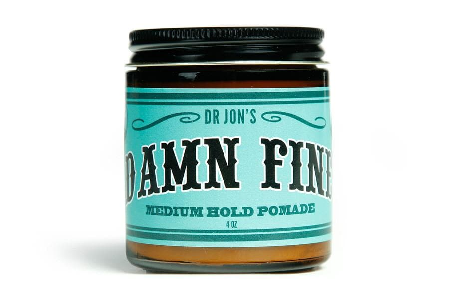 "Dr. Jon's ""Damn Fine"" Medium Hold Pomade"