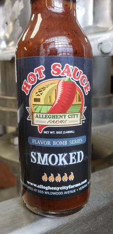 SMOKED Hot Sauce (5oz)