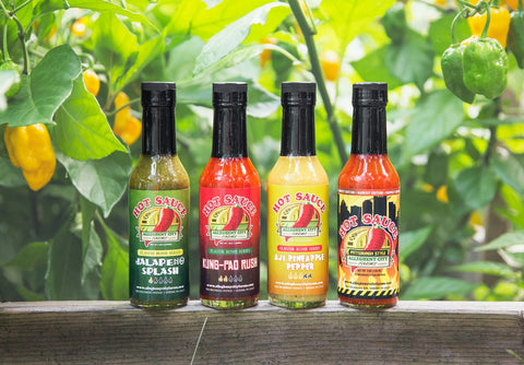 *Hot Sauce 4 Pack*