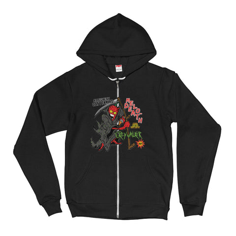 Melo-Death Zip Up Hoodie