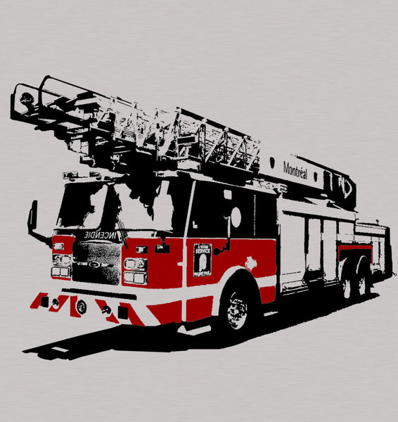 Montreal Fire Truck