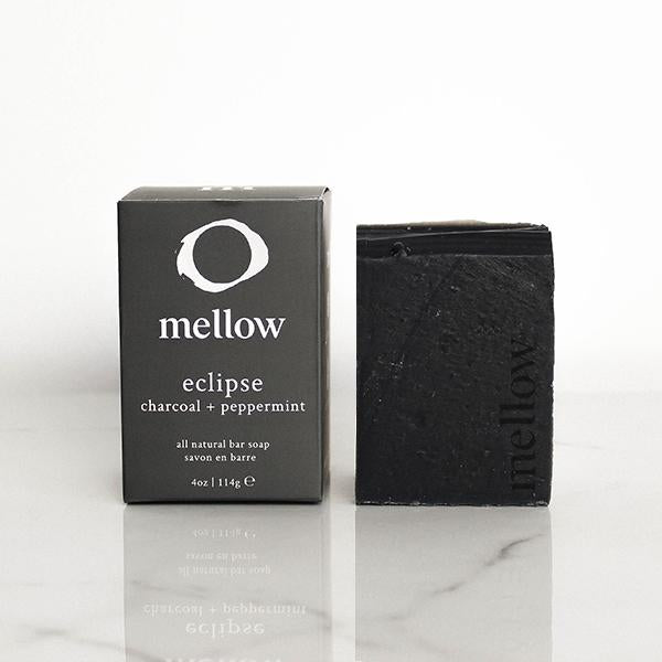 Eclipse Bar Soap - 100% Natural, Handmade and Vegan Soap - Activated Charcoal Soap