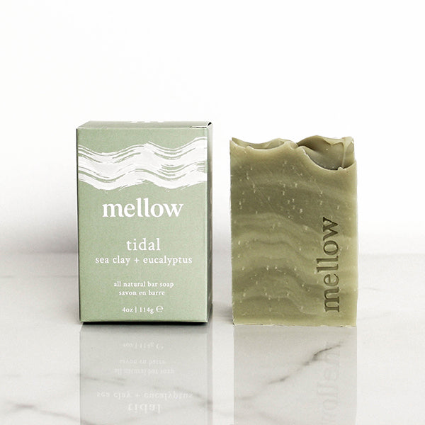 Mellow Bath + Body | Handmade soap, body soap, bar soap, best bar soap, Toronto bar soap, Toronto soap, Canada soap, eucalyptus soap, tea tree soap, clay soap