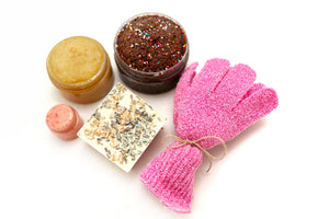 Lovescrub and Soap Set