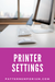 PDF Pattern Printer Settings