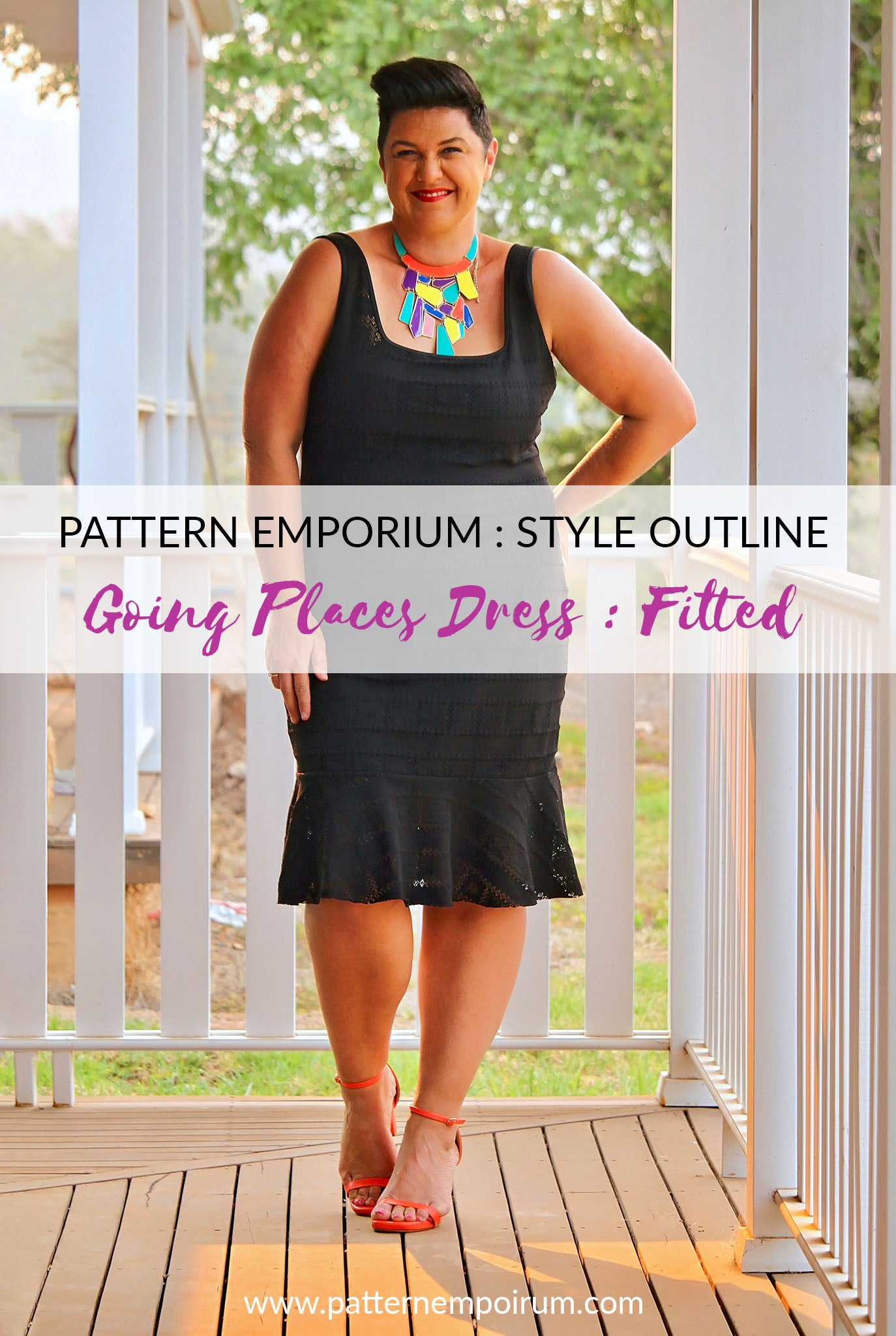 STYLE CHAT : The Fitted Going Places Dress