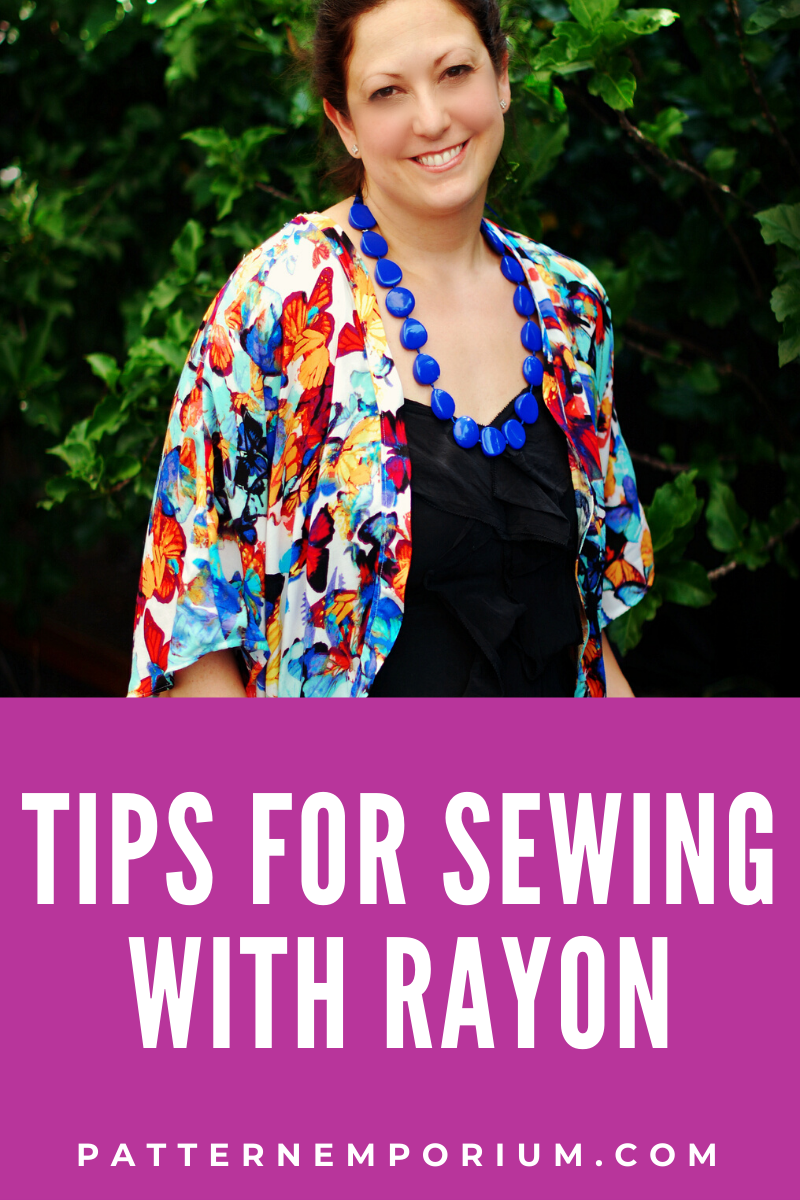 Tips for Sewing Rayon