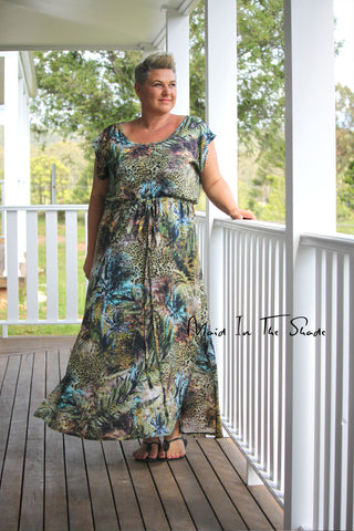 pattern mash. sew yourself an easy summer dress. Calypso & Summer Breeze