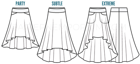 Ladies Starlight Hilo Skirt Pdf Sewing Pattern Pattern Emporium