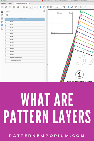 What are PDF Pattern Layers