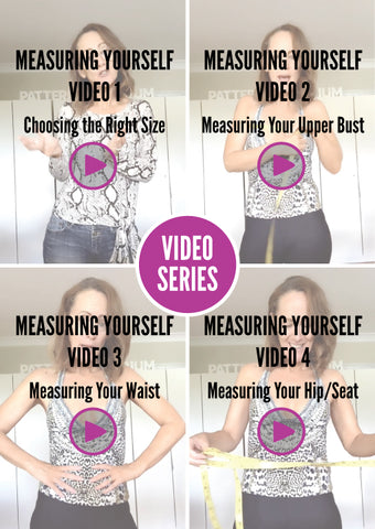 Measuring Yourself Video Series Pattern Emporium