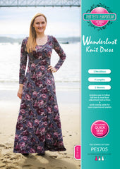 Pattern Emporium Wanderlust fit and flare dress. Bicep adjustment instructions