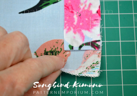 Pattern Hack Songbird Ladies Kimono Sewing pattern