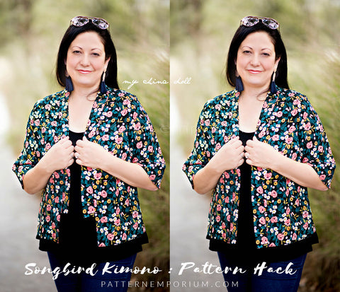 pattern hack the ladies kimono - Pattern Emporium Songbird