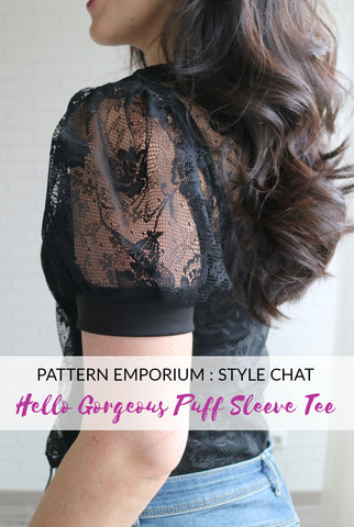 Style Chat : Hello Gorgeous Puff Sleeve Tee