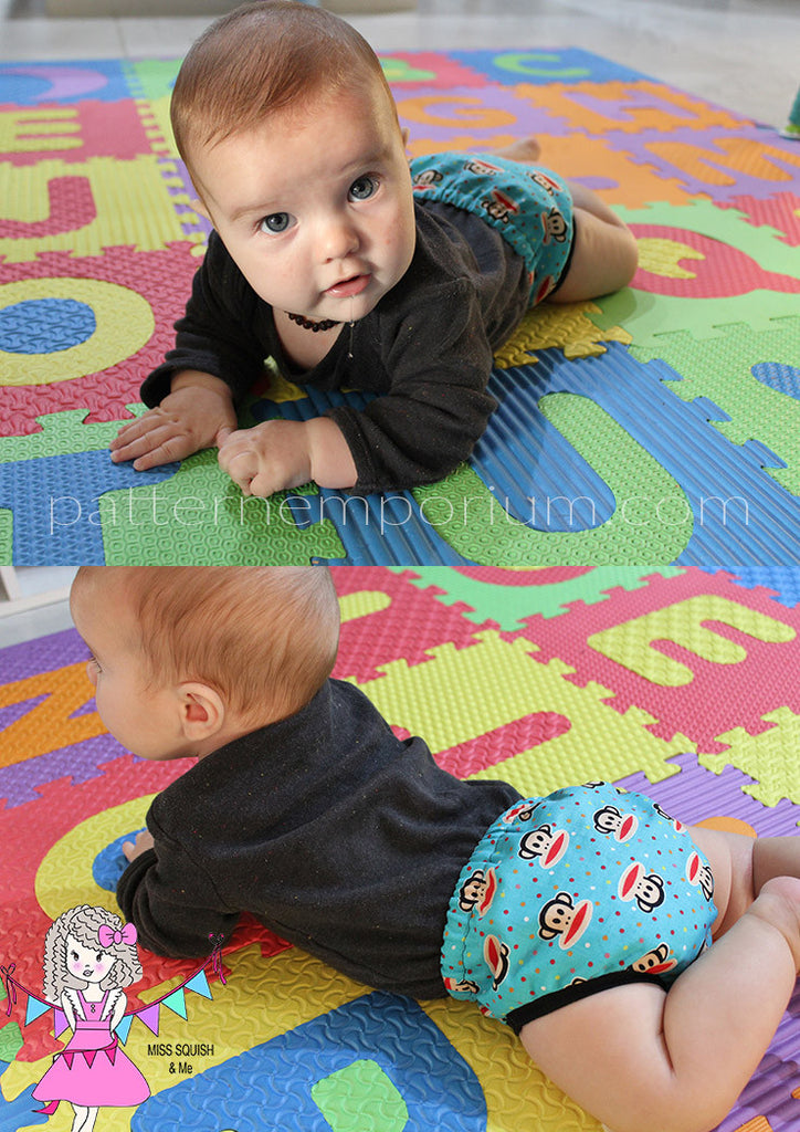 Playtime Pants Nappy Cover BABY & TODDLER PDF SEWING PATTERN