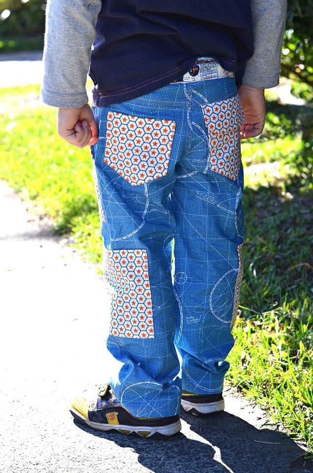 PDF Pattern: Boys Adventure Cargo Pants